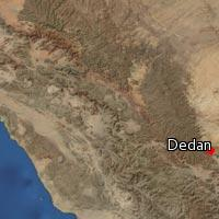 Map of Dedan