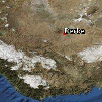 Map of Derbe