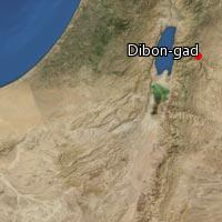 (Map of Dibon-gad)