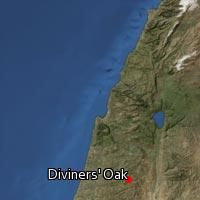 (Map of Diviners' Oak)