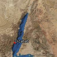 Map of Dizahab