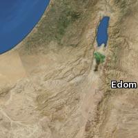 (Map of Edom)