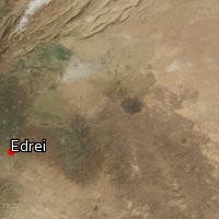 Map of Edrei