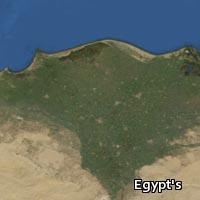 Map of Egypt's