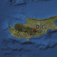 (Map of Elishah)
