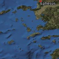 (Map of Ephesus)
