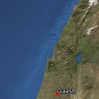 Map of Gaash