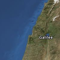 Map of Galilee