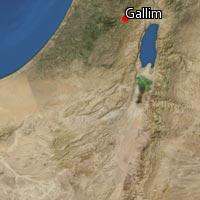 Map of Gallim