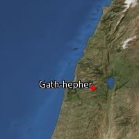 Map of Gath-hepher