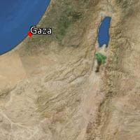 (Map of Gaza)