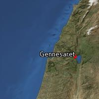 Map of Gennesaret