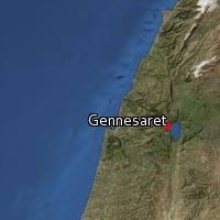Map of Gennesaret