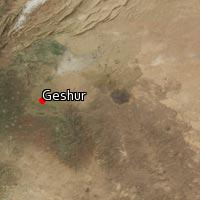 Map of Geshur