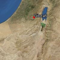 Map of Gibeah (2)