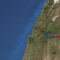 (Map of Golan)