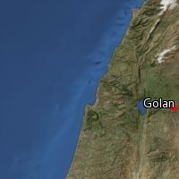 Map of Golan