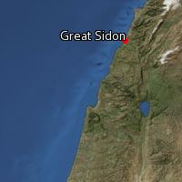 (Map of Great Sidon)