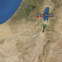 (Map of Hachilah)