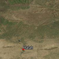 Map of Halah