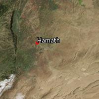 Map of Hamath