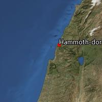 (Map of Hammoth-dor)