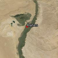 (Map of Hanes)