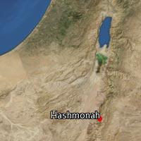 (Map of Hashmonah)