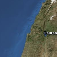 Map of Hauran