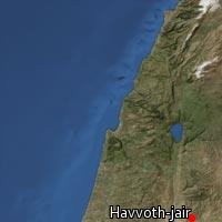 (Map of Havvoth-jair)
