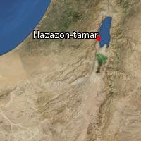 (Map of Hazazon-tamar)