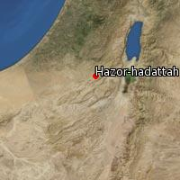 (Map of Hazor-hadattah)