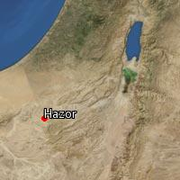Map of Hazor (2)