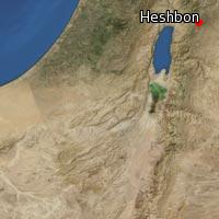 Map of Heshbon