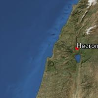 (Map of Hezron)