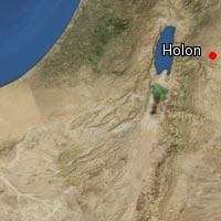 Map of Holon (2)