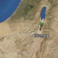(Map of Idumea)