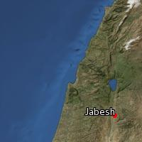 (Map of Jabesh)