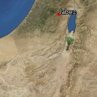 Map of Jabez