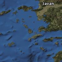 Map of Javan