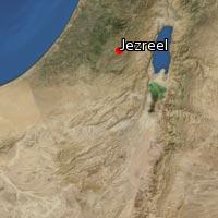Map of Jezreel