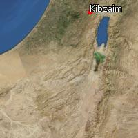 Map of Kibzaim