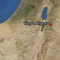 Map of King's Highway
