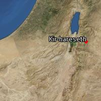 (Map of Kir-hareseth)