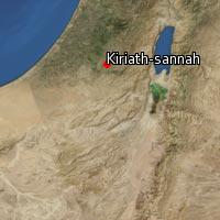 (Map of Kiriath-sannah)