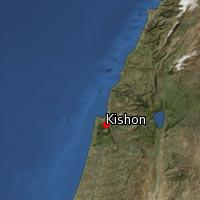 Map of Kishon