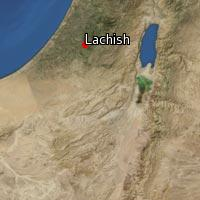 Map of Lachish