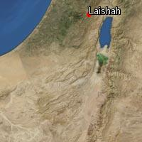 (Map of Laishah)