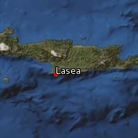 Map of Lasea