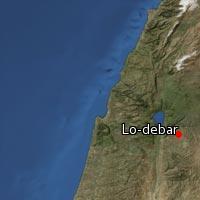 Map of Lo-debar